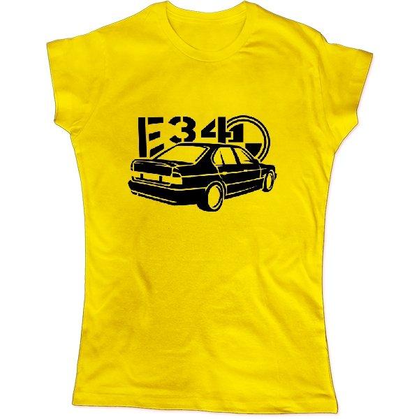Женская футболка BMW E34