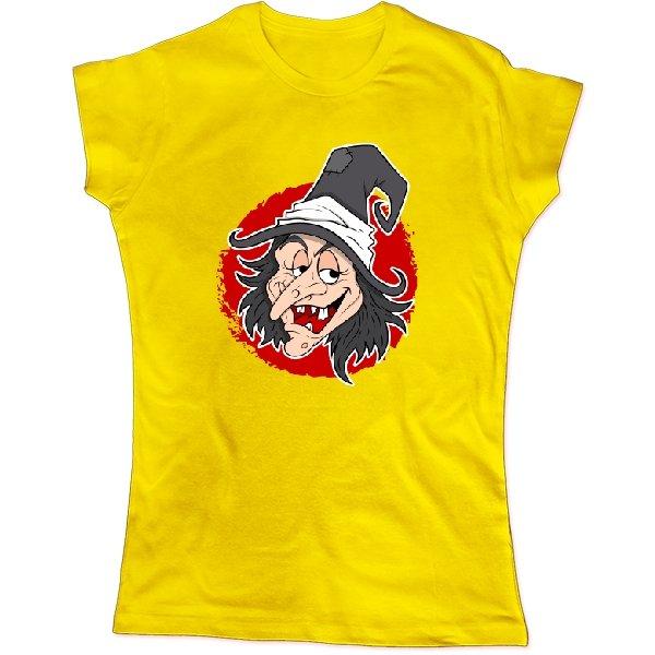 Женская футболка С Ведьмой