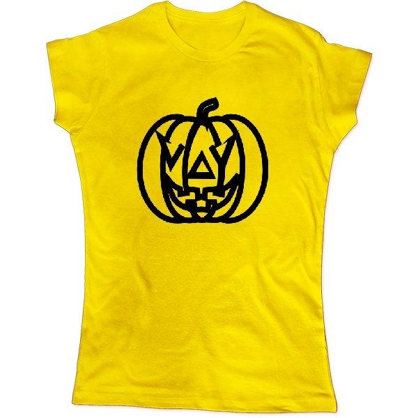 Женская футболка с тыквой