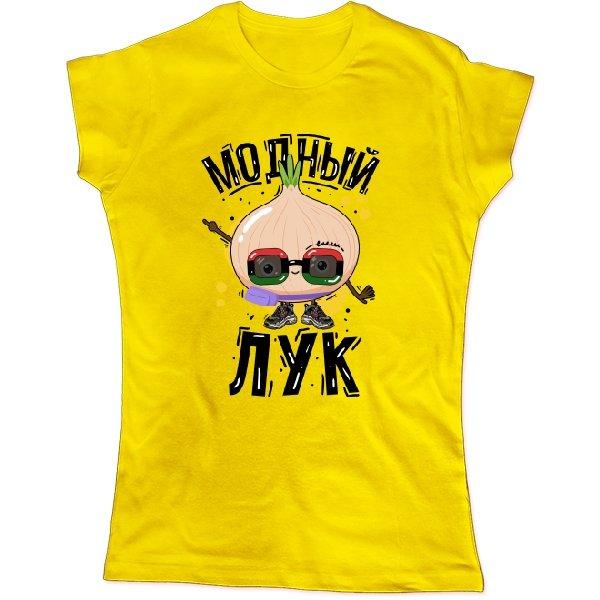 Женская футболка Модный лук