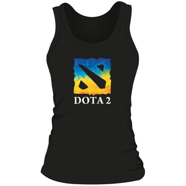 Женская майка Dota 2 Ukraine Team