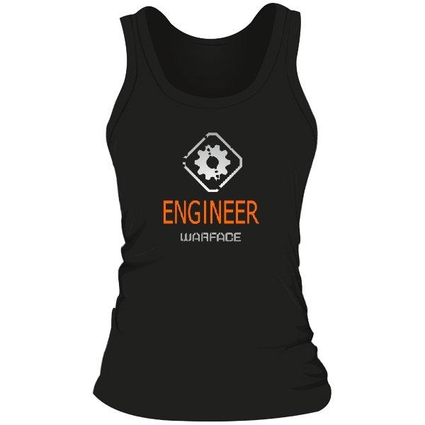 Женская майка Warface Инженер