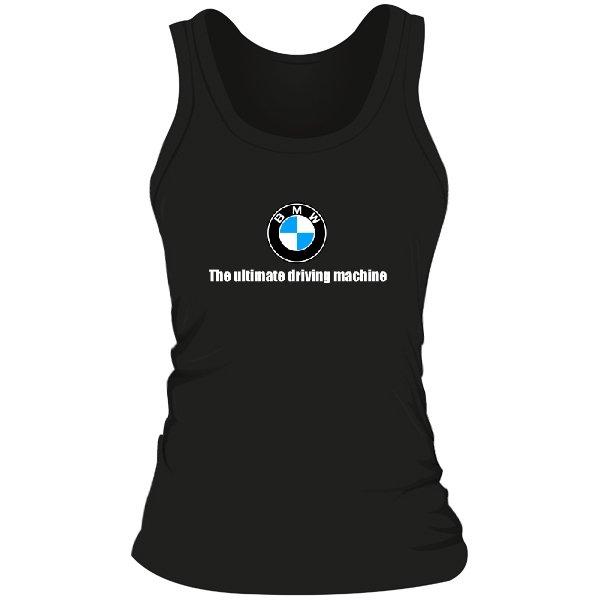 Женская майка The ultimate driving machine