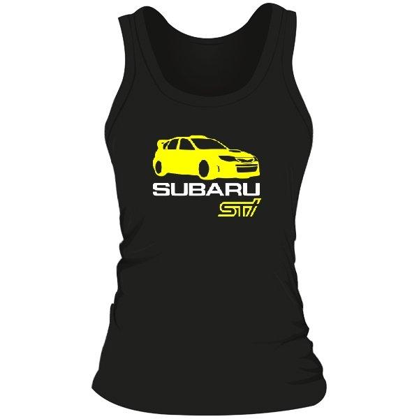 Женская майка Subaru STI