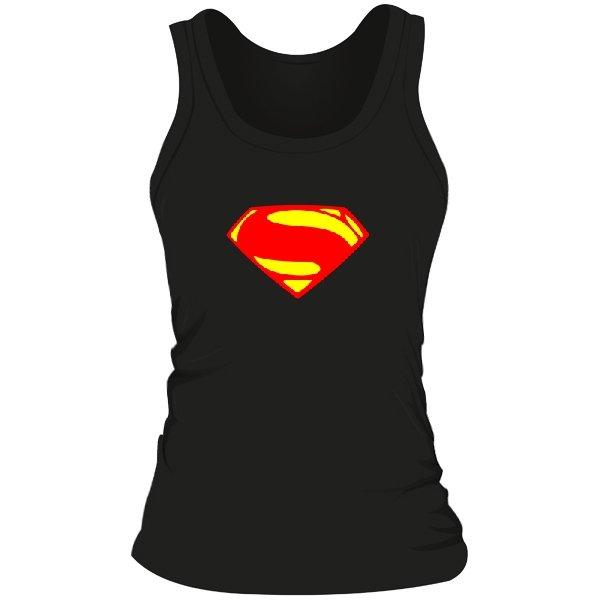 Женская майка Superman new