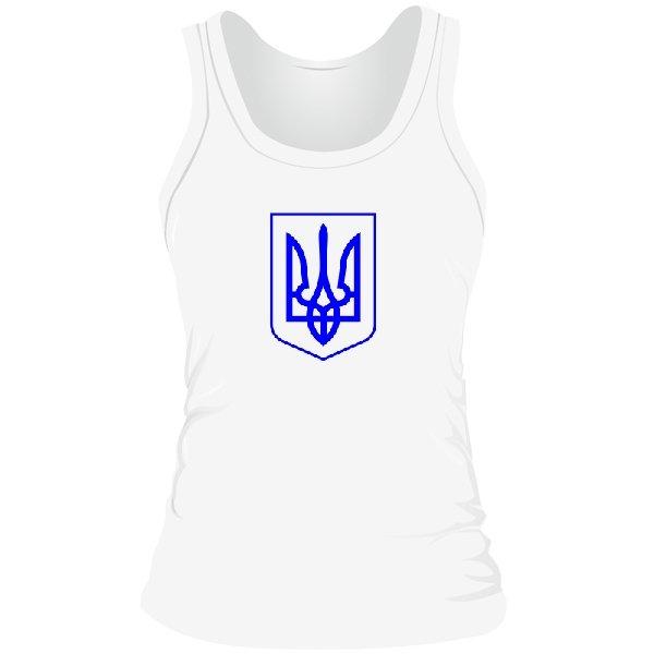 Женская майка Герб Украины