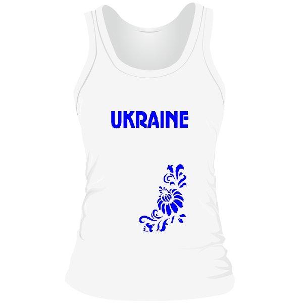Женская майка Символика Ukraine