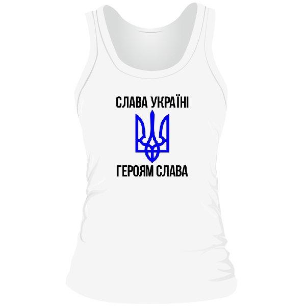 Женская майка Слава Україні Героям Слава
