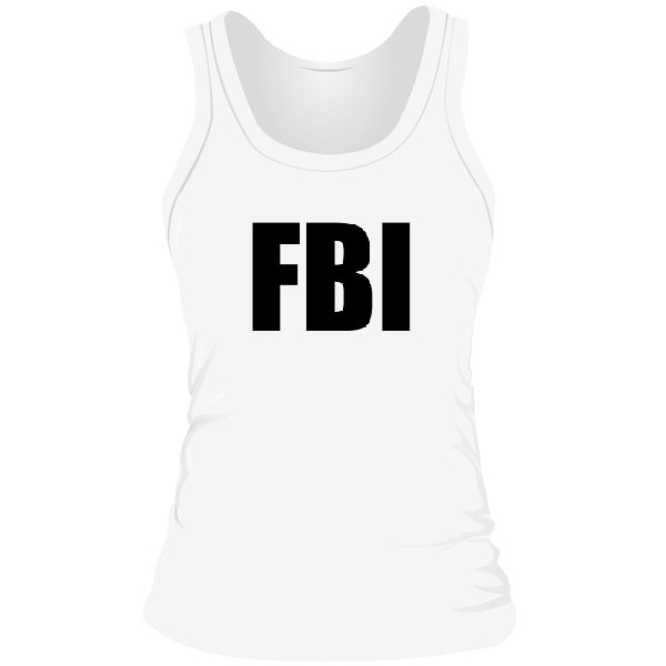 Женская майка FBI