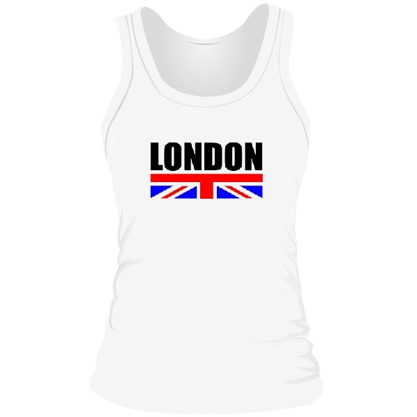 Женская майка London