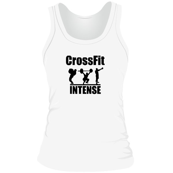 Женская майка CrossFit Intense