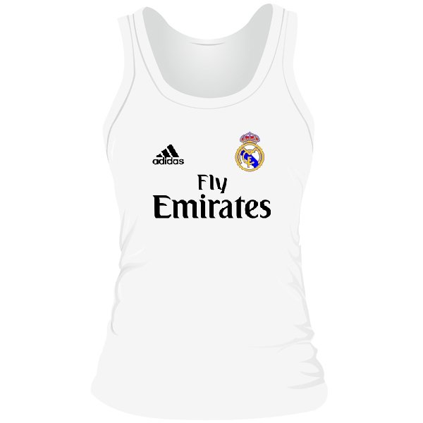 Женская майка Реал Мадрид