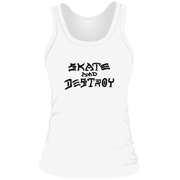 Женская майка Thrasher Skate and Destroy