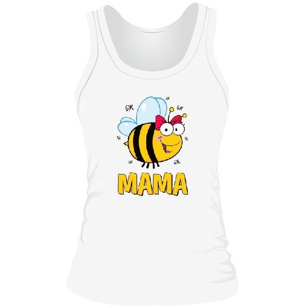 Женская майка Пчела Мама
