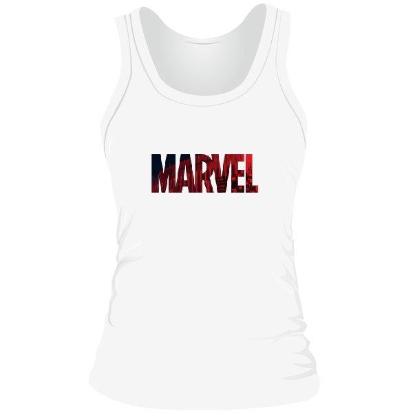 Женская майка Marvel logo