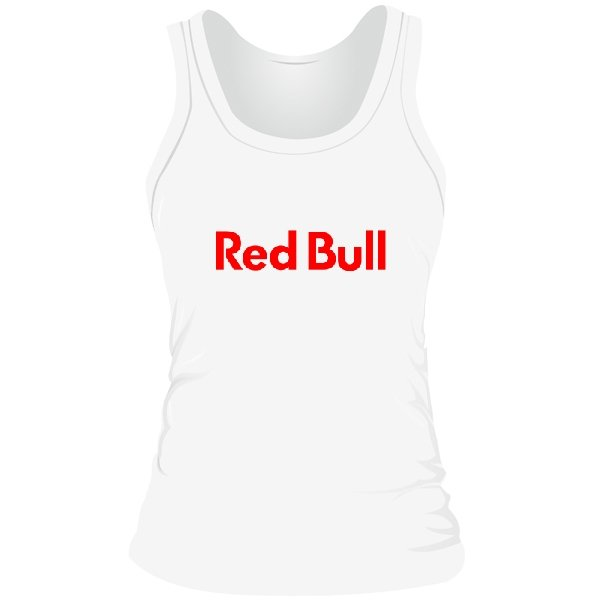 Женская майка Red Bull