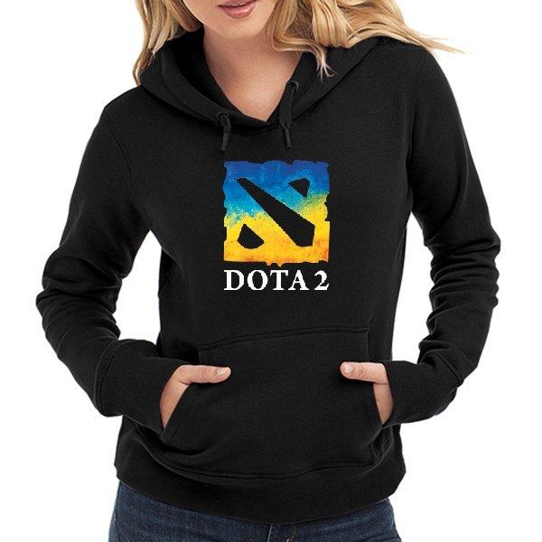 Женская толстовка Dota 2 Ukraine Team