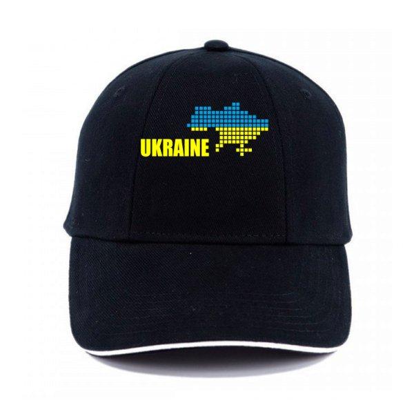 Кепка Карта Украины