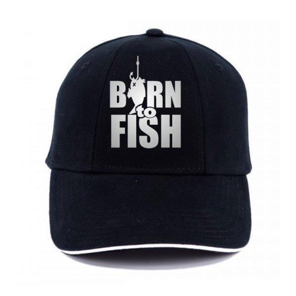 Кепка Рожденный для Рыбалки