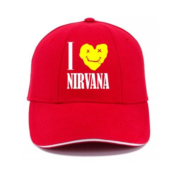 Кепка I Love Nirvana