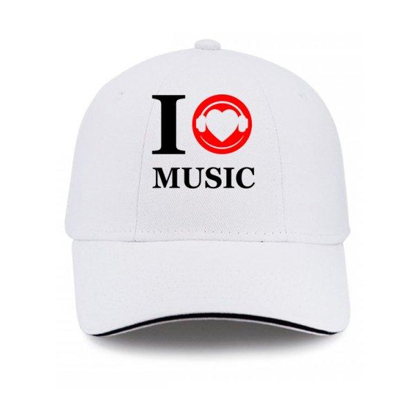 Кепка Я люблю Музыку