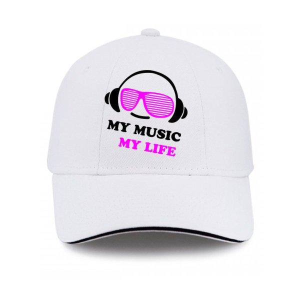 Кепка Моя Музыка - Моя Жизнь