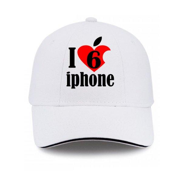 Кепка Люблю 6 Айфон