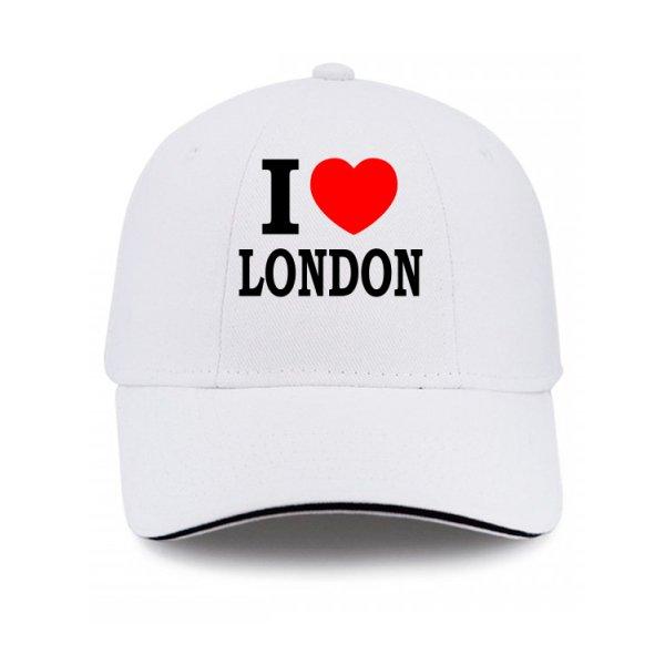 Кепка Я люблю Лондон