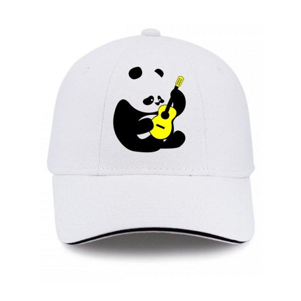 Кепка Панда с Гитарой