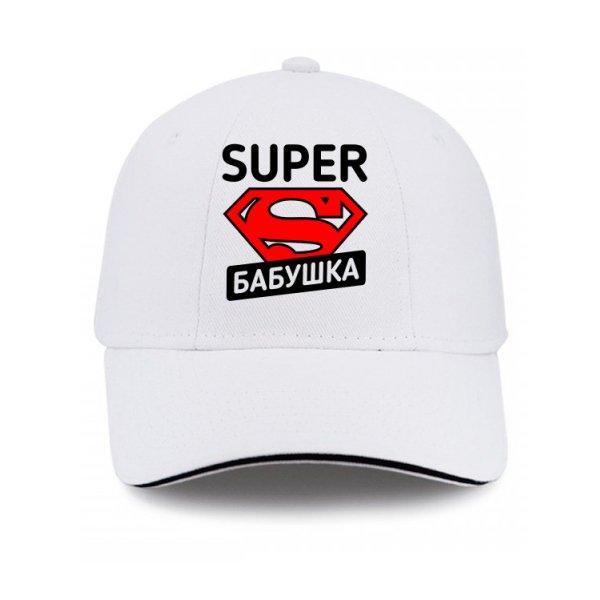Кепка Super Бабушка