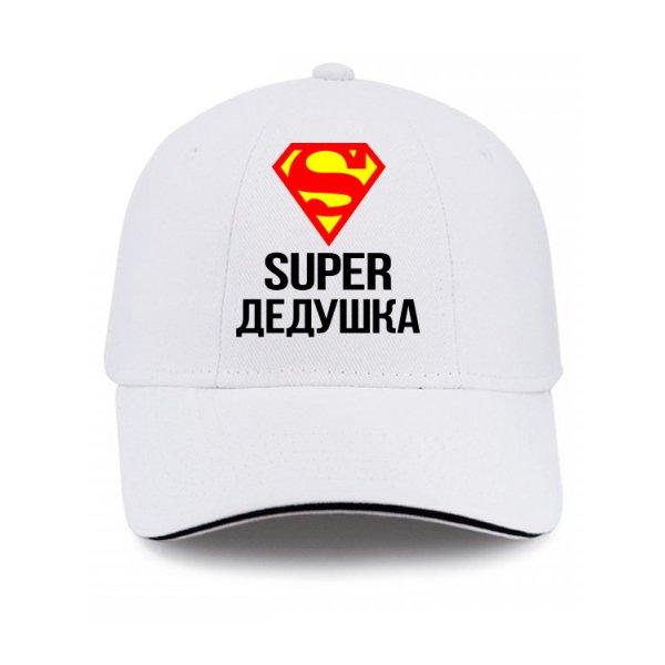 Кепка Супер Дедушка