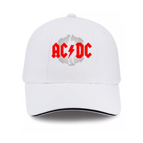Кепка с логотипом AC DC