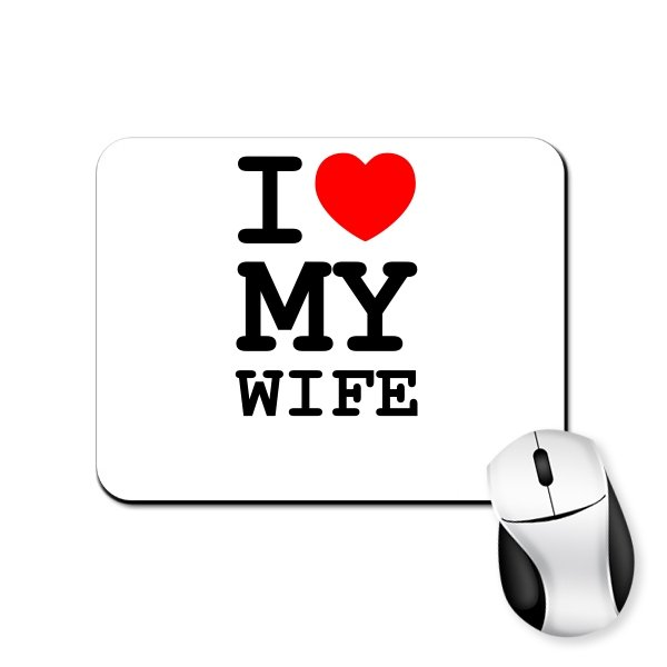 Коврик для мыши Люблю Свою Жену