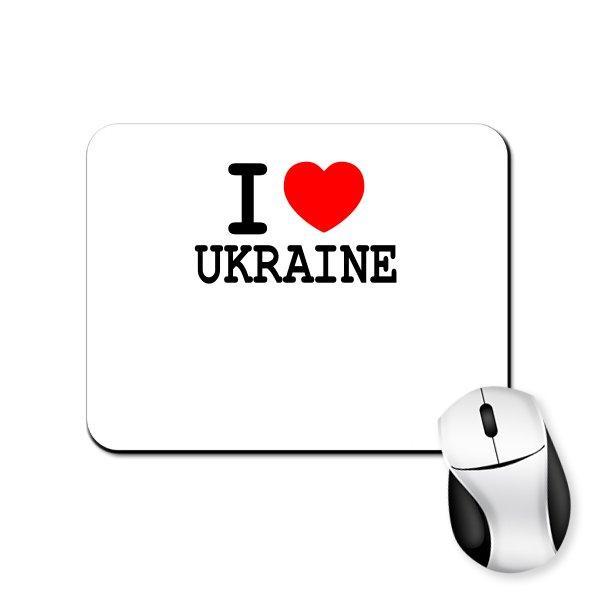 Коврик для мыши Я Люблю Украину