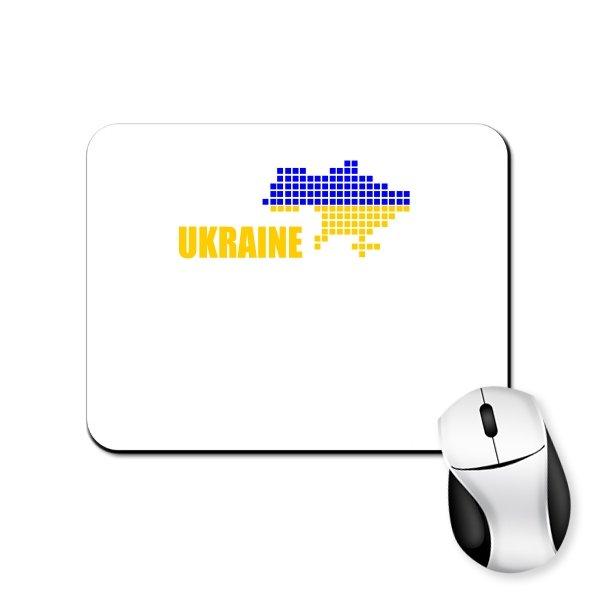 Коврик для мыши Карта Украины