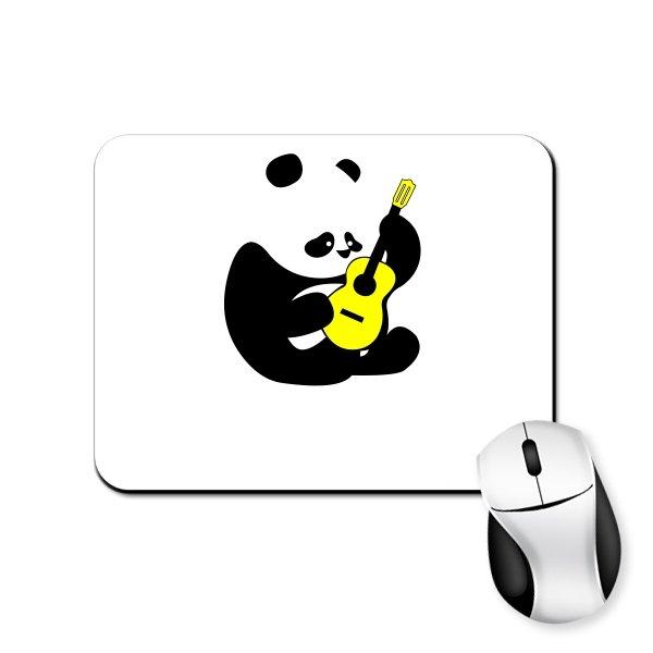 Коврик для мыши Панда с Гитарой