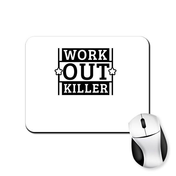 Коврик для мыши Work Out Killer