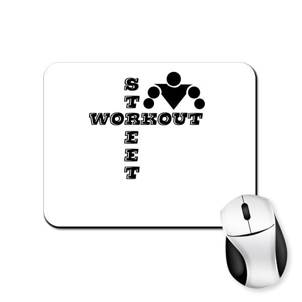 Коврик для мыши Надпись Street Workout