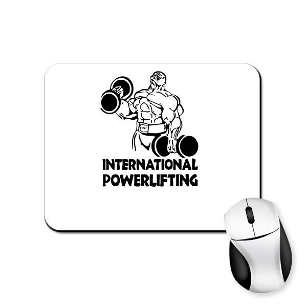 Коврик для мыши International Powerlifting