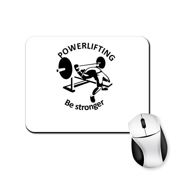 Коврик для мыши Powerlifting Be Stronger