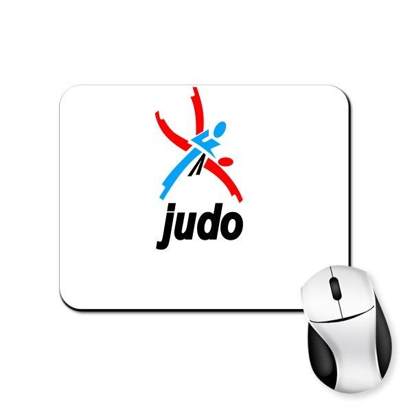 Коврик для мыши Логотип Дзюдо