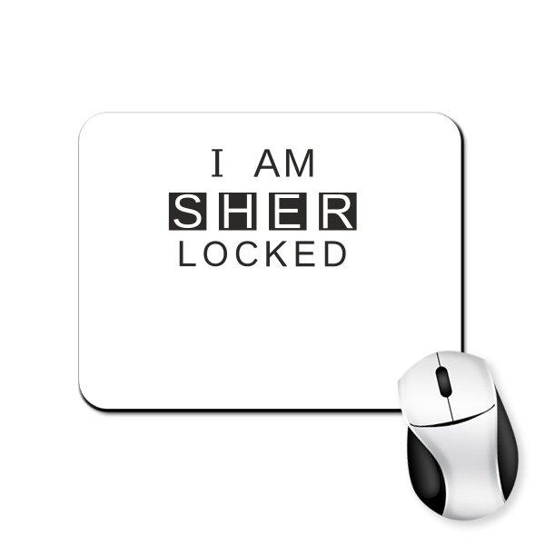 Коврик для мыши I am Sher Locked
