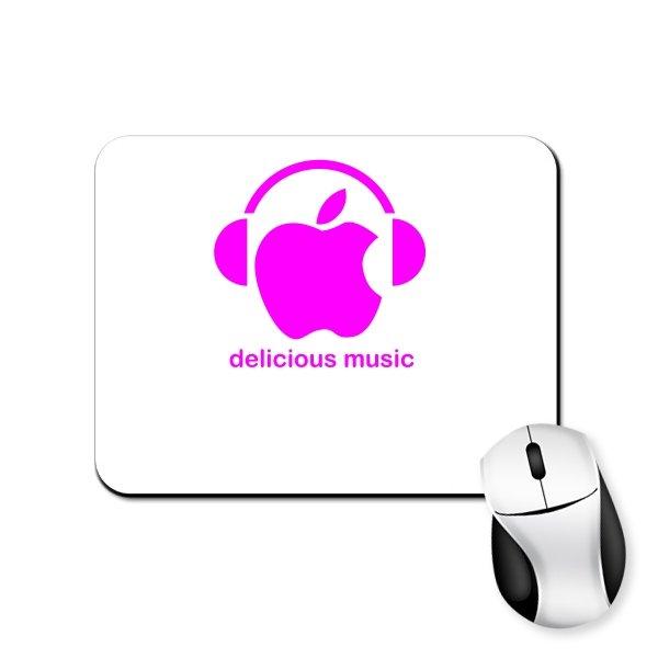 Коврик для мыши Delicious music