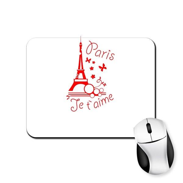 Коврик для мыши Люблю Париж