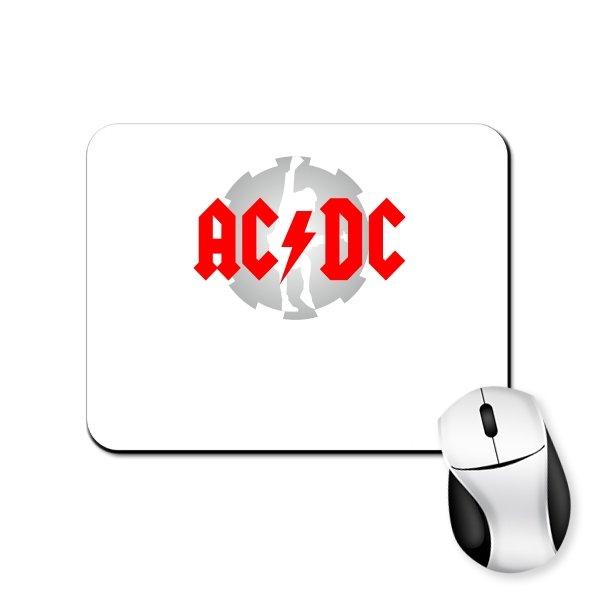 Коврик для мыши с логотипом AC DC