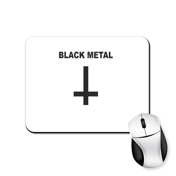 Коврик для мыши Black Metal