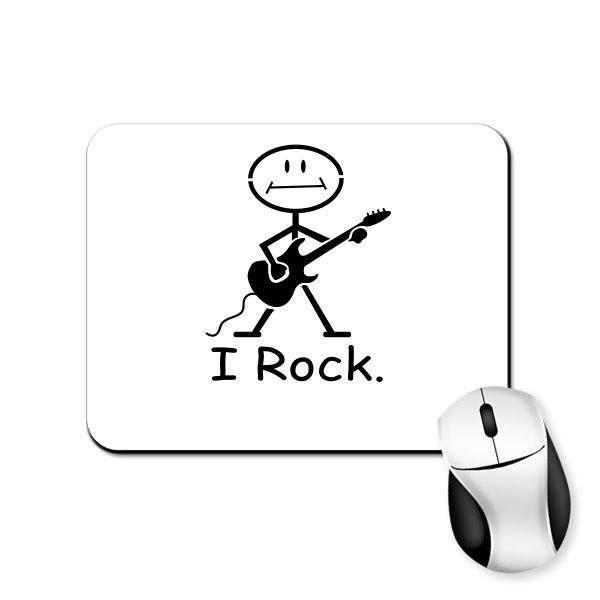 Коврик для мыши I Rock