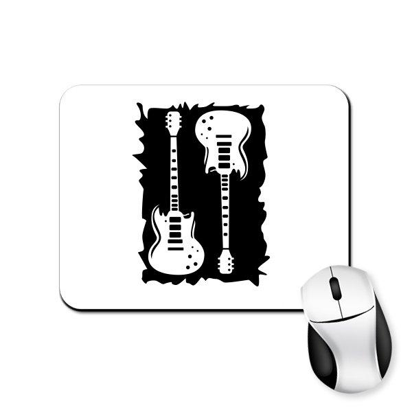 Коврик для мыши с Рок Гитарами