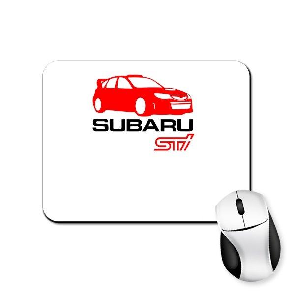 Коврик для мыши Subaru STI