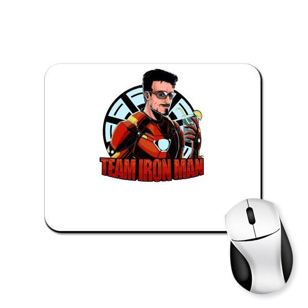 Коврик для мыши Команда Железного Человека